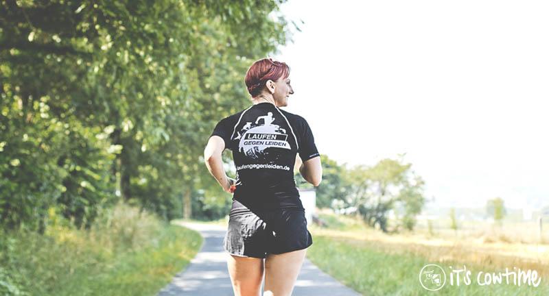 Laufen gegen Leiden